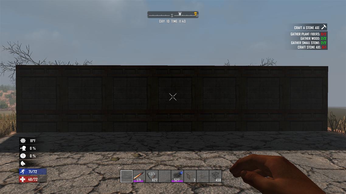 7Days to Die 最高クラスの耐久力をもつ鉄筋コンクリートの作り方