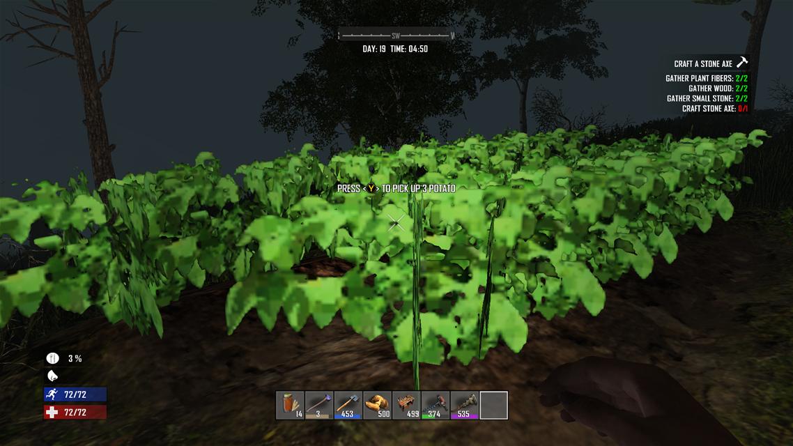 7Days to Die 自分で食料を作るための初めての農業