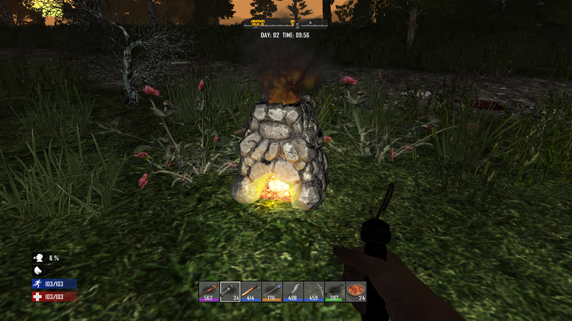 7Days to Die Forge(フォージ)の使い方