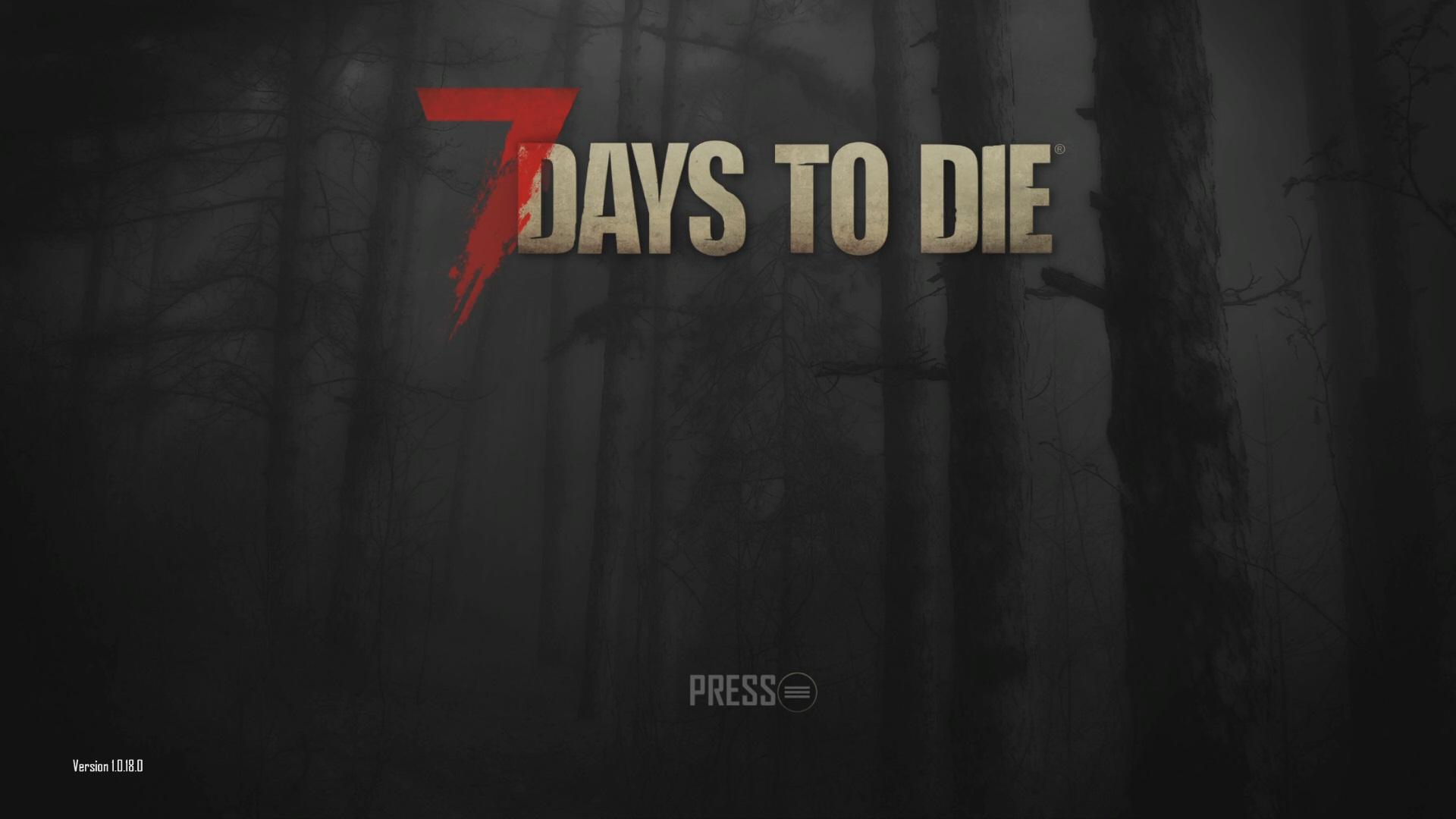 オープンワールドのサバイバルホラーゲームの7Days to Die