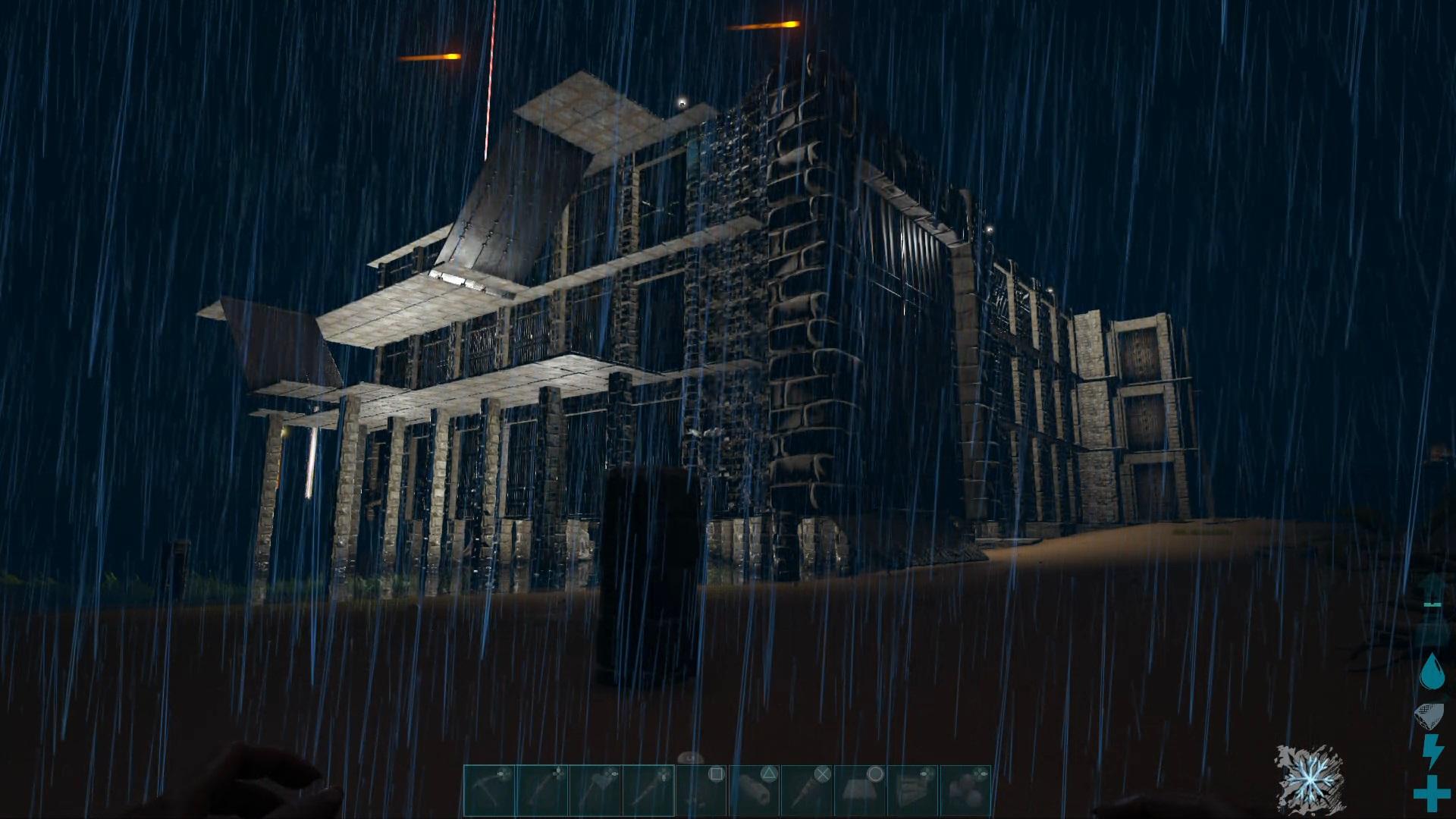 オープンワールドの恐竜サバイバルアクションゲームのARK Survival Evolved